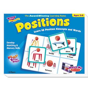 TREND ENTERPRISES, INC. T58104 Positions Match Me Puzzle Game, Ages 5-8 by TREND ENTERPRISES, INC.