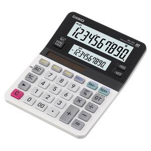 Casio Computer Co., Ltd MV-210 MV-210 10 Digit Dual Display Desktop Calculator / Mini Size