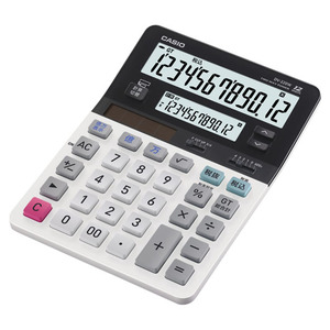 DV-220 10 Digit Dual Display Desktop Calculator / Desk Size