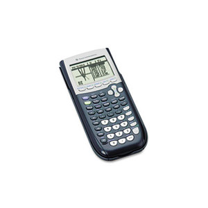 TI-84Plus Programmable Graphing Calculator, 10-Digit LCD by TEXAS INSTRUMENTS